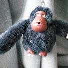 Kipling Monkey Key chain Tag Kim Midnight Blue keychain