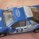 Matchbox Ford RS 200 Blue 1986 1:55 2 Pirelli