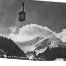 Vintage Postcard Zakopane Poland Cable Car Myślenickie Turnie