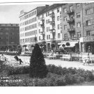 Vintage Postcard Gdynia Skwer Kosciuszki Poland