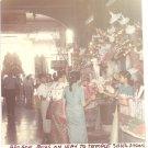 Vintage Photograph Burma Shwe Dagon Temple Market Arcade 1968 Myanmar