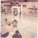 Vintage Photograph Children Playing Kathmandu Nepal 1968