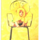 Anne Geddes Postcard 1995 Baby 605-091 Flower on Chair 4x6
