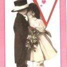 Anne Geddes Postcard 1995 605-075 V is for Valentine Baby 4x6