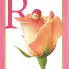 Anne Geddes Postcard 1995 605-071 R is for Rose Baby 4x6