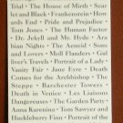 Bookmark Knopf Everyman's Library List of Authors Classics