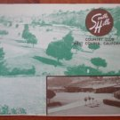 Vintage Golf Scorecard South Hills Country Club West Covina CA