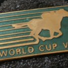 World Cup VIII Horserace Vintage Pin Enamel Pin
