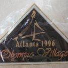 Atlanta 1996 Olympic Village Georgia Enamel Goldtone Metal