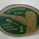 WSSF Pin 1983 Participant Women's Shooting Sports Foundation Ladies Charity Classic