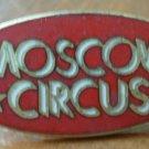 Moscow Circus Pin Enamel Goldtone Metal Vintage