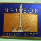 Nelson Entertainment Pin Sun Unlimited Goldtone Enamel