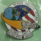 NASA Space Shuttle Pin Mcnair Onizuka Resnik Scobee Smith Mcauliffe Jarvis STS 51L 1986 Challenger
