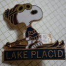 Lake Placid Snoopy Pin Ski Resort Peanuts 1971 Vintage United Feature Syndicate