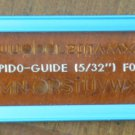 Vintage Koh I Noor Rapido Guide 5/32 For no 0 3030 Letter Template