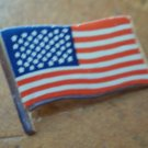 American Flag Pin Litho on Metal