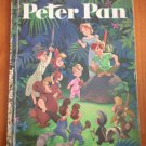 Peter Pan Walt Disney Big Golden Book 10453 Hardcover Golden Press Vintage
