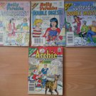 Archie Digest Library Books Lot 4 93 97 101 106 Double Digest Jughead Betty Veronica