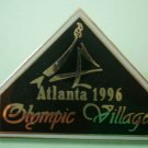 Altanta Olympics 1996 Pin Olympic Village Enamel Goldtone Metal