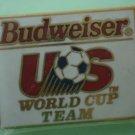 Budweiser US World Cup Team Pin Sponsor Soccer 1991 McGillvray