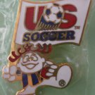 US Soccer Team Pin 1991 McGillvray Enamel Goldtone Metal Child