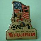 Fujifilm US World Cup Team Pin Sponsor Soccer 1994 Aminco