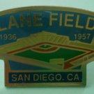 Lane Field Pin Enamel Goldtone Medal Padres San Diego 1991