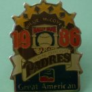 Willie McCovey Pin 1986 San Diego Padres Great American Hall of Fame