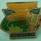 West Gate Park Field Pin San Diego Padres 1967 Enamel Goldtone Metal