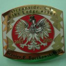 Oceanside Elks Lodge 1561 Pin 2001 2002 Stanley Buczkowski ER
