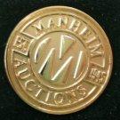 Manheim Auctions Pin Est 1945 1/20 10k GF in Case