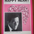 Happy Heart Sheet Music Jackie Rae James Last Andy Williams 1969