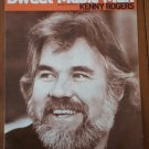 Sweet Music Man Sheet Music Kenny Rogers Cherry Lane Music 1977