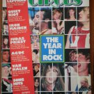 Circus Magazine Dec 31, 1983 Year in Rock Def Leppard Judas Priest Van Halen