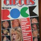 Circus Magazine Dec 31, 1987 Year in Rock White Snake Motley Crue Bon Jovi Poison