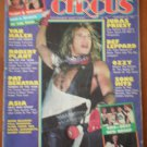 Circus Magazine Feb 28 1983 Readers Poll Winners Van Halen Asia Ozzy