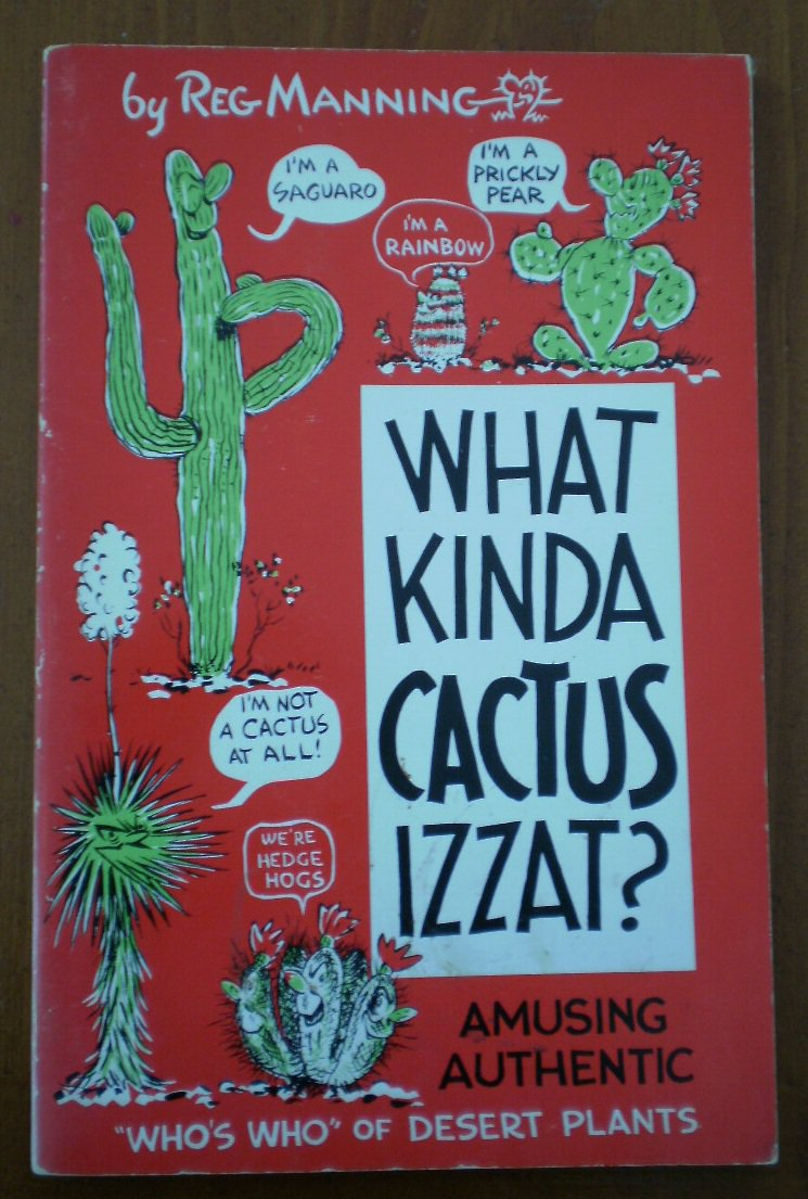 What Kinda Cactus Izzat Reg Manning Book 1957 Reganson Cartoon Books