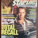 Starlog 156 July 1990 Schwarzenegger Total Recall Forbidden Planet Starman Star Trek