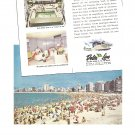 Vintage Ad Uruguay Delta Lines 1958 Mississippi Shipping Company Beach Cruise