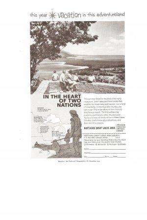 Vintage Ad Northern Great Lakes Area 1958 Adventureland