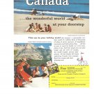 Vintage Ad Canada 1958 Wonder world at your doorstep