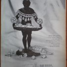 Vintage Ad Harry Winston Jewelry 1948 Deepest Africa White Brilliance Diamonds
