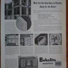 Vintage Ad Bakelite Plastics 1948 New Ideas For Home