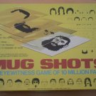 Mug Shots Eyewitness Board Game Cadaco 1975 460 Complete Boardgame