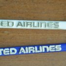 Vintage Swizzle Sticks United Airlines Lot 30 White Blue Plastic