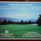 Vintage Golf Scorecard Morro Bay Golf Course California