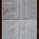 Vintage Golf Scorecard Harding Municipal Golf Course Griffith Park 1961