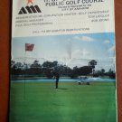 Vintage Golf Scorecard Anaheim H G Dad Miller Public Golf Course