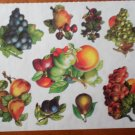 Mrs Grossman Gifted Line Victorian Fruit Harvest John Grossman Stickers Grapes Peach