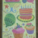 Marcella Kay Embossed Stickers Birthday Celebration 141186 Maret Hensick